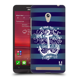 Plastové pouzdro na mobil Asus Zenfone 6 HEAD CASE KOTVA HOPE