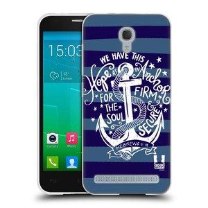Silikonové pouzdro na mobil Alcatel One Touch Idol 2 Mini S 6036Y HEAD CASE KOTVA HOPE