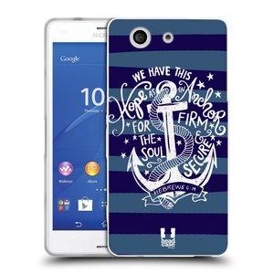 Silikonové pouzdro na mobil Sony Xperia Z3 Compact D5803 HEAD CASE KOTVA HOPE
