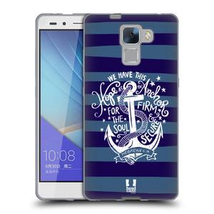 Silikonové pouzdro na mobil Honor 7 HEAD CASE KOTVA HOPE