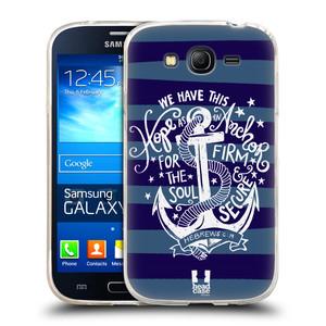 Silikonové pouzdro na mobil Samsung Galaxy Grand Neo Plus HEAD CASE KOTVA HOPE