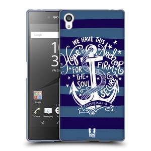 Silikonové pouzdro na mobil Sony Xperia Z5 Premium HEAD CASE KOTVA HOPE