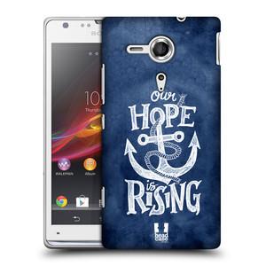 Plastové pouzdro na mobil Sony Xperia SP C5303 HEAD CASE KOTVA RISING