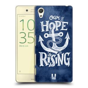 Plastové pouzdro na mobil Sony Xperia X HEAD CASE KOTVA RISING