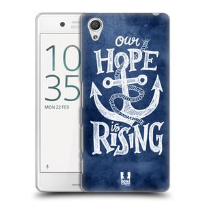 Plastové pouzdro na mobil Sony Xperia X Performance HEAD CASE KOTVA RISING