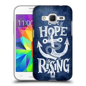 Plastové pouzdro na mobil Samsung Galaxy Core Prime LTE HEAD CASE KOTVA RISING