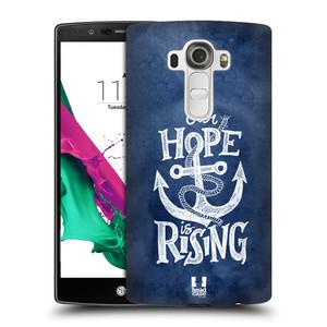 Plastové pouzdro na mobil LG G4 HEAD CASE KOTVA RISING