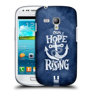 Plastové pouzdro na mobil Samsung Galaxy S3 Mini VE HEAD CASE KOTVA RISING