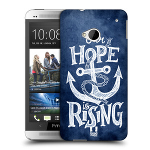 Plastové pouzdro na mobil HTC ONE M7 HEAD CASE KOTVA RISING