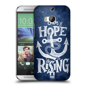 Plastové pouzdro na mobil HTC ONE M8 HEAD CASE KOTVA RISING