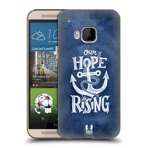 Plastové pouzdro na mobil HTC ONE M9 HEAD CASE KOTVA RISING