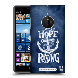Plastové pouzdro na mobil Nokia Lumia 830 HEAD CASE KOTVA RISING