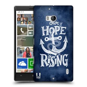 Plastové pouzdro na mobil Nokia Lumia 930 HEAD CASE KOTVA RISING