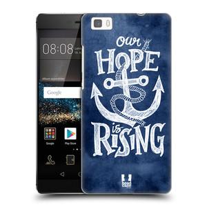 Plastové pouzdro na mobil Huawei P8 Lite HEAD CASE KOTVA RISING