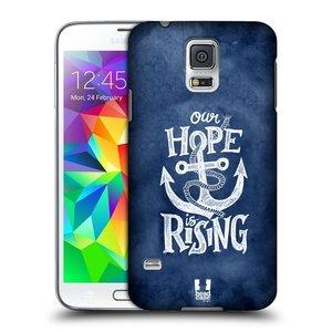 Plastové pouzdro na mobil Samsung Galaxy S5 Neo HEAD CASE KOTVA RISING