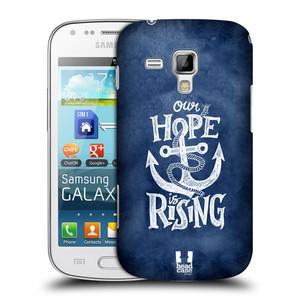 Plastové pouzdro na mobil Samsung Galaxy S Duos HEAD CASE KOTVA RISING