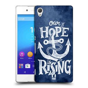 Plastové pouzdro na mobil Sony Xperia Z3+ (Plus) HEAD CASE KOTVA RISING