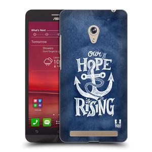 Plastové pouzdro na mobil Asus Zenfone 6 HEAD CASE KOTVA RISING