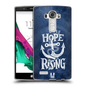 Silikonové pouzdro na mobil LG G4 HEAD CASE KOTVA RISING