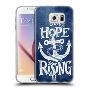 Silikonové pouzdro na mobil Samsung Galaxy S6 HEAD CASE KOTVA RISING