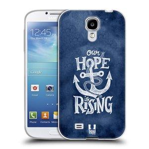Silikonové pouzdro na mobil Samsung Galaxy S4 HEAD CASE KOTVA RISING