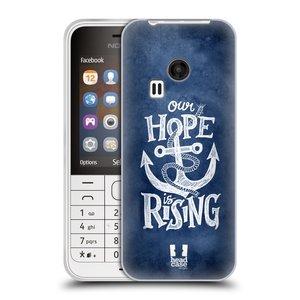 Silikonové pouzdro na mobil Nokia 220 HEAD CASE KOTVA RISING