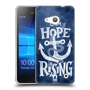 Silikonové pouzdro na mobil Microsoft Lumia 550 HEAD CASE KOTVA RISING