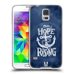 Silikonové pouzdro na mobil Samsung Galaxy S5 Neo HEAD CASE KOTVA RISING