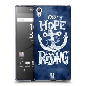 Silikonové pouzdro na mobil Sony Xperia Z5 Premium HEAD CASE KOTVA RISING