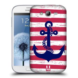 Plastové pouzdro na mobil Samsung Galaxy Grand Neo Plus HEAD CASE KOTVA S PRUHY