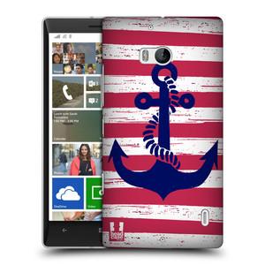 Plastové pouzdro na mobil Nokia Lumia 930 HEAD CASE KOTVA S PRUHY