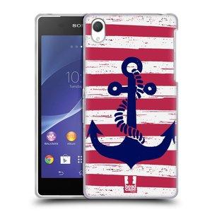 Silikonové pouzdro na mobil Sony Xperia Z2 D6503 HEAD CASE KOTVA S PRUHY