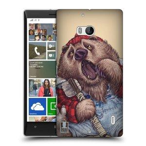 Plastové pouzdro na mobil Nokia Lumia 930 HEAD CASE ANIMPLA MEDVĚD