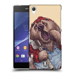 Plastové pouzdro na mobil Sony Xperia Z2 D6503 HEAD CASE ANIMPLA MEDVĚD