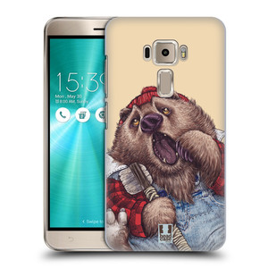 Plastové pouzdro na mobil Asus ZenFone 3 ZE520KL HEAD CASE ANIMPLA MEDVĚD