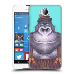 Plastové pouzdro na mobil Microsoft Lumia 650 HEAD CASE ANIMPLA GORILÁK