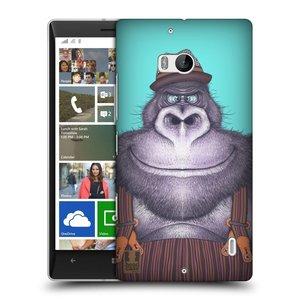 Plastové pouzdro na mobil Nokia Lumia 930 HEAD CASE ANIMPLA GORILÁK