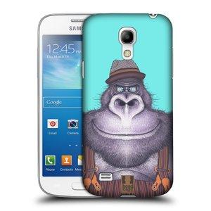 Plastové pouzdro na mobil Samsung Galaxy S4 Mini HEAD CASE ANIMPLA GORILÁK