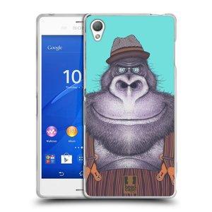 Silikonové pouzdro na mobil Sony Xperia Z3 D6603 HEAD CASE ANIMPLA GORILÁK