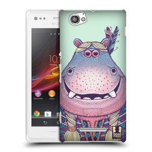Plastové pouzdro na mobil Sony Xperia M C1905 HEAD CASE ANIMPLA HROŠICE