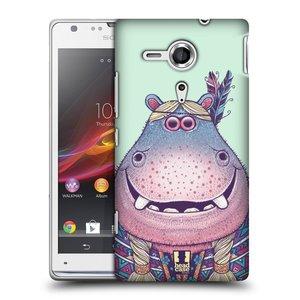 Plastové pouzdro na mobil Sony Xperia SP C5303 HEAD CASE ANIMPLA HROŠICE