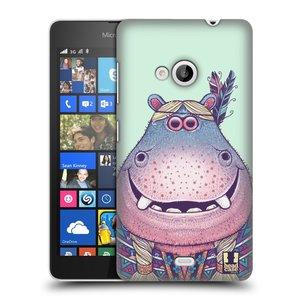 Plastové pouzdro na mobil Microsoft Lumia 535 HEAD CASE ANIMPLA HROŠICE