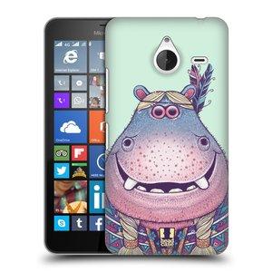 Plastové pouzdro na mobil Microsoft Lumia 640 XL HEAD CASE ANIMPLA HROŠICE