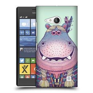 Plastové pouzdro na mobil Nokia Lumia 735 HEAD CASE ANIMPLA HROŠICE