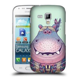 Plastové pouzdro na mobil Samsung Galaxy Trend Plus HEAD CASE ANIMPLA HROŠICE