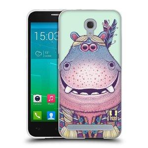 Silikonové pouzdro na mobil Alcatel One Touch Idol 2 Mini S 6036Y HEAD CASE ANIMPLA HROŠICE