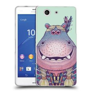 Silikonové pouzdro na mobil Sony Xperia Z3 Compact D5803 HEAD CASE ANIMPLA HROŠICE