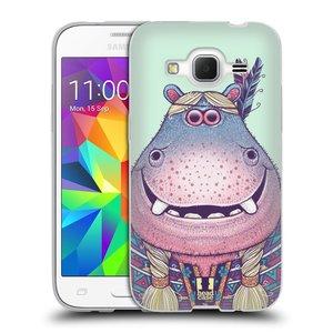 Silikonové pouzdro na mobil Samsung Galaxy Core Prime LTE HEAD CASE ANIMPLA HROŠICE