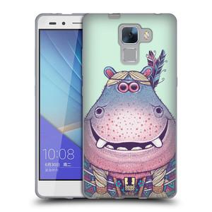 Silikonové pouzdro na mobil Honor 7 HEAD CASE ANIMPLA HROŠICE