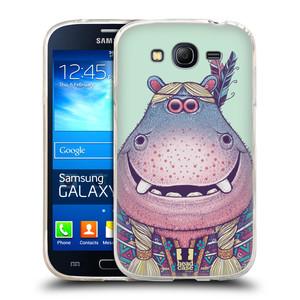 Silikonové pouzdro na mobil Samsung Galaxy Grand Neo Plus HEAD CASE ANIMPLA HROŠICE